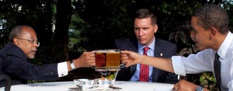 Even Obama knows beer breeds friendship.