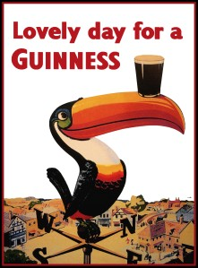 Everyday is a lovely day for a Guinness.