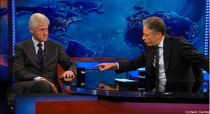 """That is a mug.""- Jon Stewart"