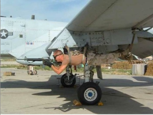 Military cuts can lead to some improvising.