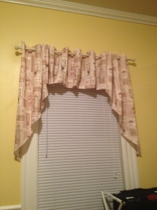 Coffee Themed Curtains for the Dining Room